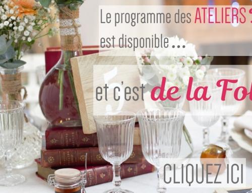 Programme des ateliers DIY – Salon du mariage Marseille 2017