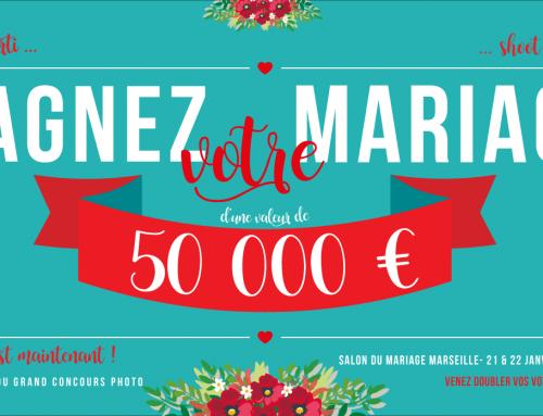 Gagnez VOTRE mariage d'une valeur de 50 000 €