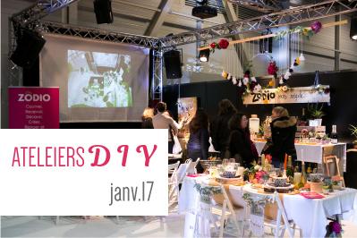Programme des ateliers diy salon du mariage de marseille 25 26 nov 17 salons du mariage - Salon du mariage aix en provence ...